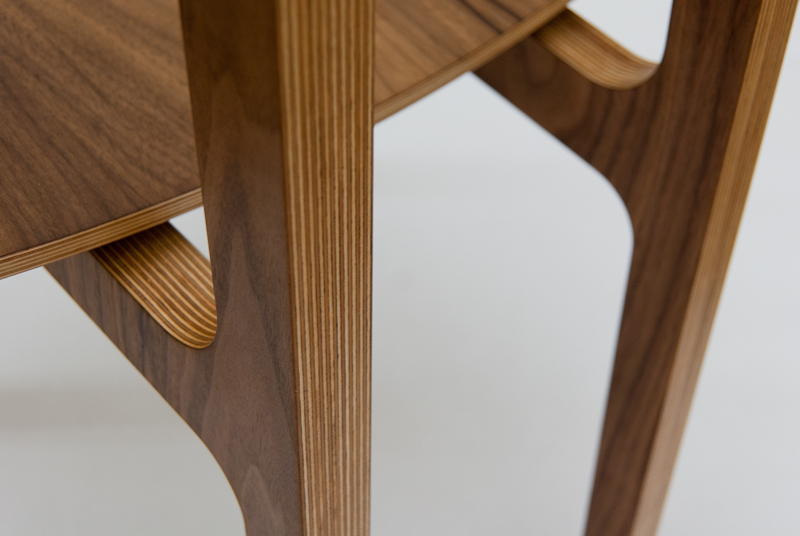Walnut Plywood 412 Chair