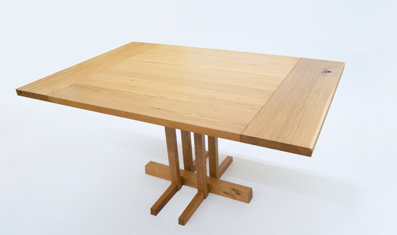 Custom Oak Kitchen Table
